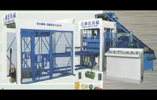 Máy ép gạch không nung-LS10-15