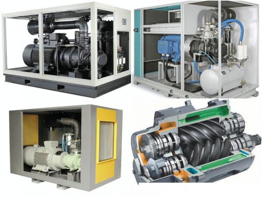 máy nén khí trục vít công nghiệp