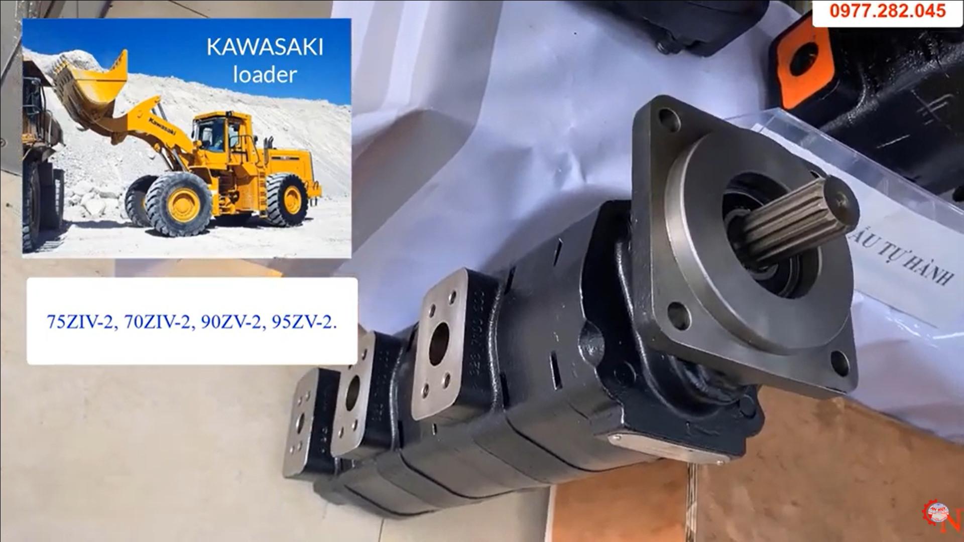 Bơm Số Xe Xúc Lật Kawasaki