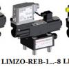 Van chỉnh tỷ lệ áp suất hai đường có đầu dò kiểu đut LIMZO-R 1