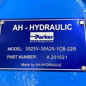 Bơm Cánh Gạt AH-HYDRAULIC Model 3525V-38A25-1CB-22R/ Part Number A 201021