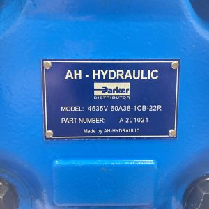 Bơm Cánh Gạt AH-HYDRAULIC Model 4535V-60A38-1CB-22B/ Part Number A 201021