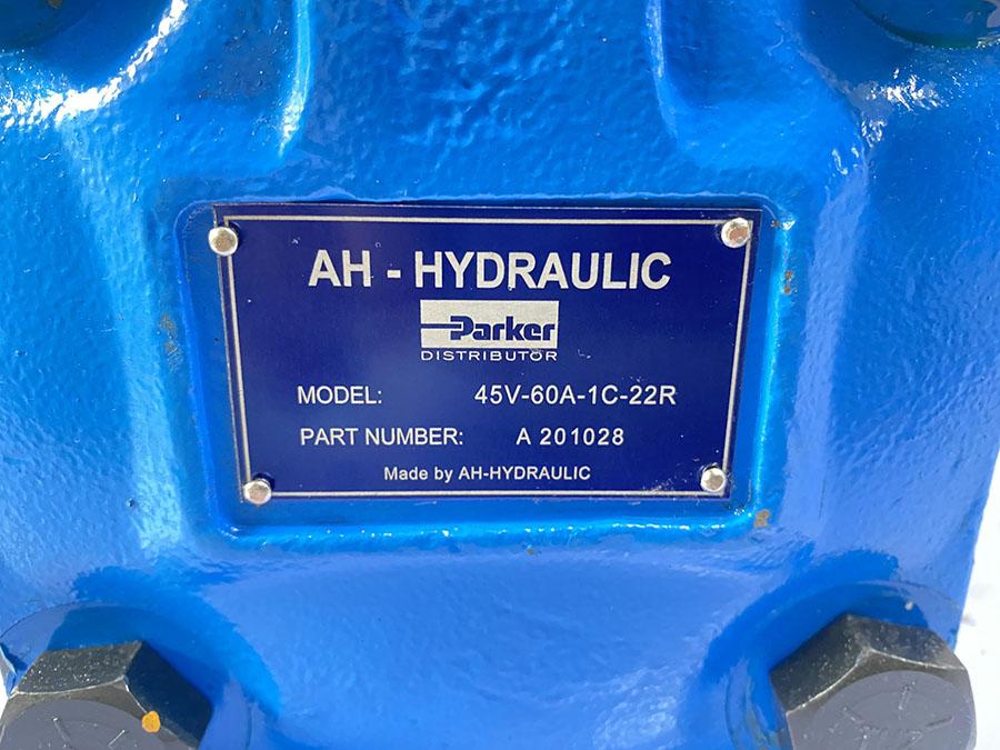 Bơm Cánh Gạt Ah Hydraulic Model 45v 60a 1c 22r Part Number A 201028 1