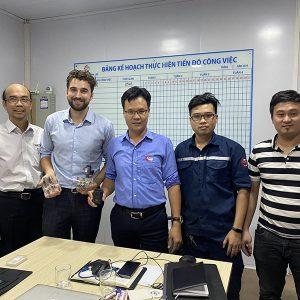 Đại Diện Hãng Sun Hydraulics Làm Việc Với Công Ty An Huy