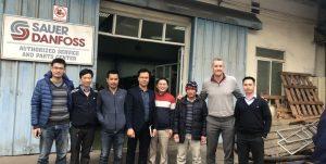 Giám đốc Parker Cùng Thủy Lực An Huy Khảo Sát Và Lắp đặt Hệ Thống Thủy Lực Tại Quảng Ninh