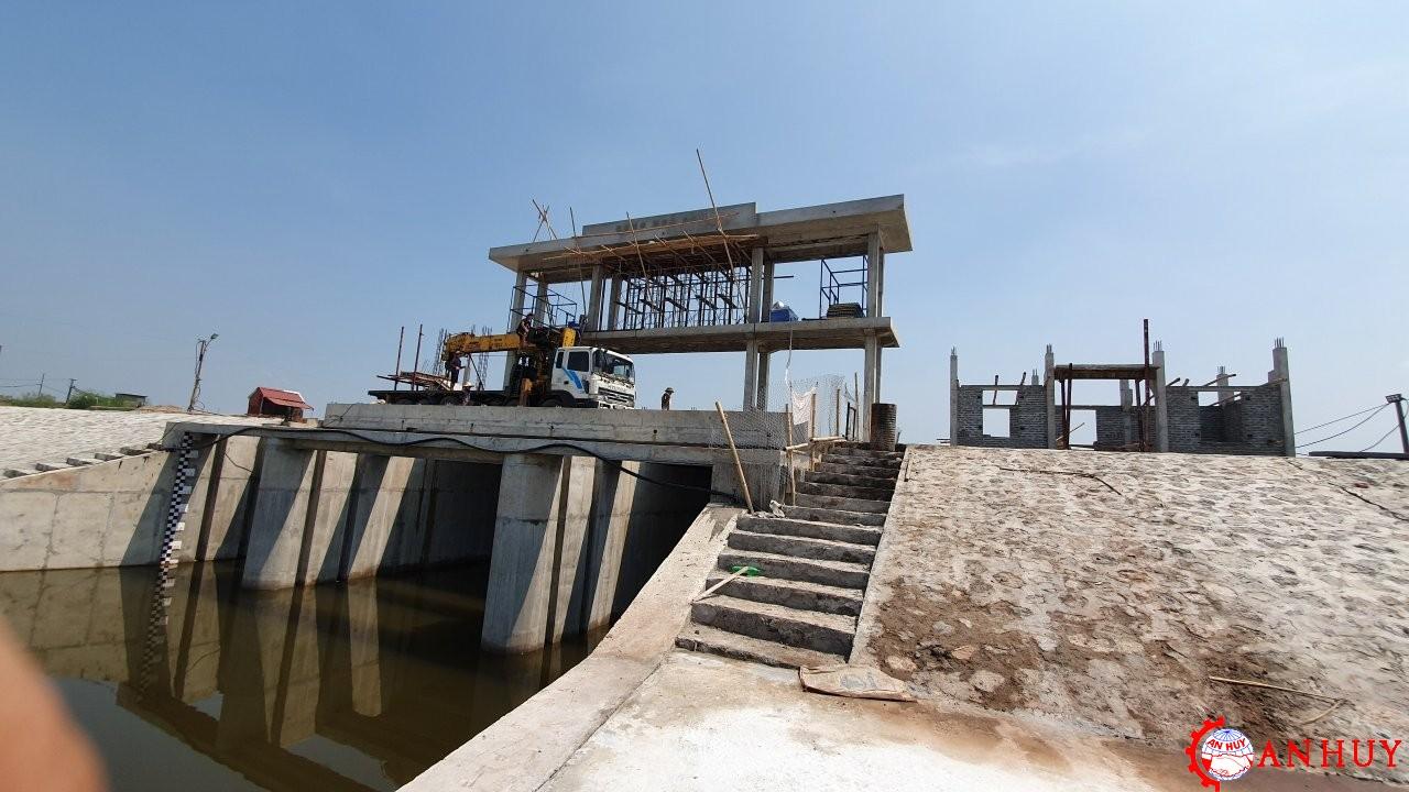 Lắp đặt Hệ Thống Thủy Lực đóng Mở Cửa Phẳng Tại Nam Định