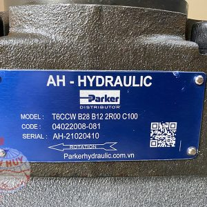 Bom AH HYDRAULIC Model T6CCW B28 B12 2R00C100