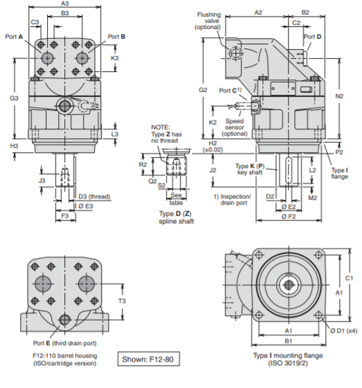 kich-thuoc-lap-dat-motor-thuy-luc-piston-Model F12-110-MF-IV-D-000-0000-P0