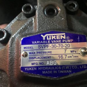 Bơm Cánh Gạt Yuken SVPF-30-70-20