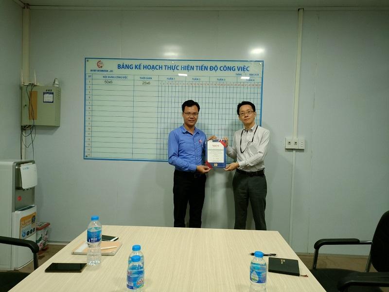 Tổng Giám đốc Nachi Tại Việt Nam Tới Thăm Và Làm Việc Tại Công Ty Cổ Phần Tự động Hóa An Huy